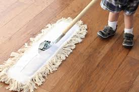 "Do Not ""Wet Mop"" Your Floor."